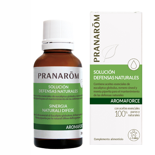 PRANAROM AROMAFORCE SOLUCIÓN DEFENSAS NATURALES