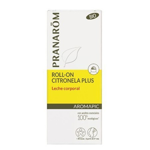 PRANAROM ROLL-ON CITRONELA LECHE CORPORAL 75 ML