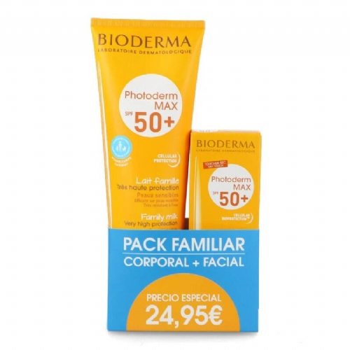 Photoderm pack max leche 250ml+aquafluido 40ml