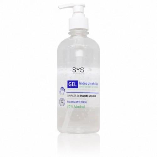 Gel hidroalcoholico con aloe vera 500ml