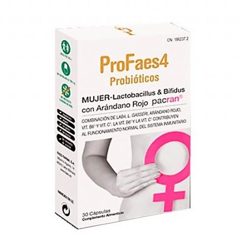 Profaes4 mujer 30 caps