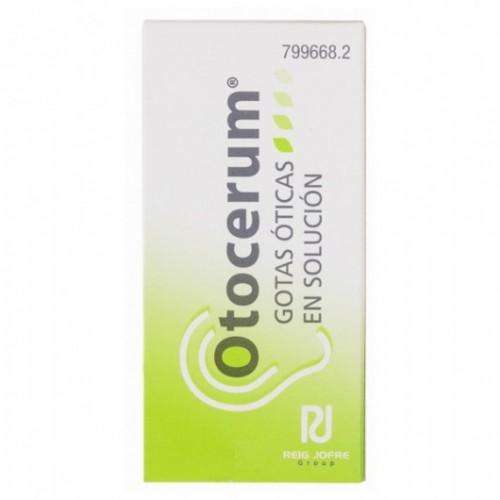 OTOCERUM  GOTAS OTICAS EN SOLUCION , 1 frasco de 10 ml