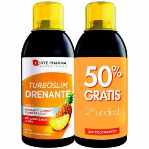 TURBOSLIM DRENANTE PIÑA PACK 2 X 500 ML