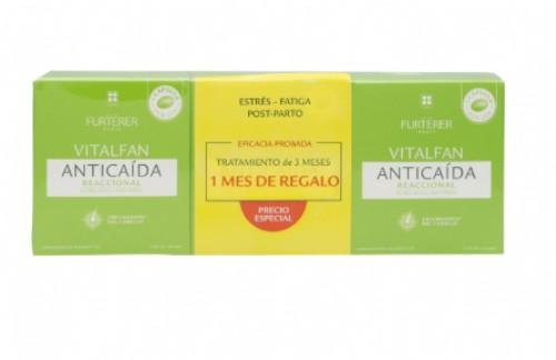 VITALFAN ANTICAIDA REACCIONAL PACK 3MESES