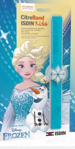 Citroband Isdin Kids Pulsera Aromática Frozen (1 pulsera + 2 pastillas de recarga)