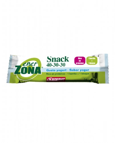 Enerzona 40-30-30 snack bar (sabor yogur 1 barrita)