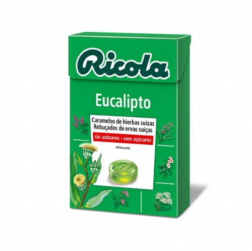 Ricola caram s/a eucaliptus 50 g