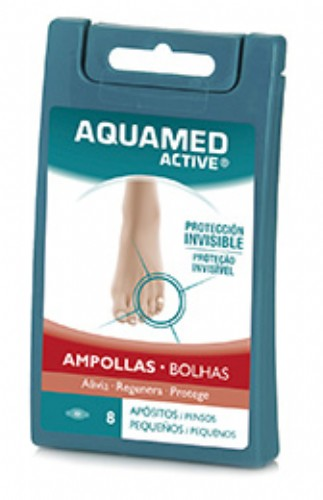 Aquamed Active Apósitos Pequeños 8 Apósitos