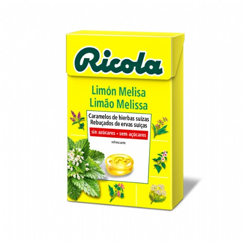 Ricola caram s/a limon melisa 50 g