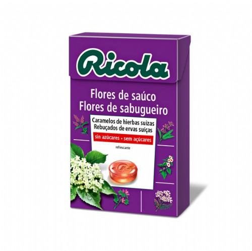 Ricola caramelos flores de sauco