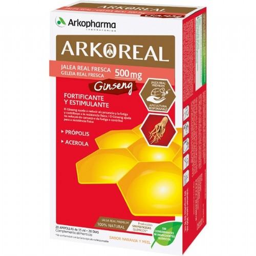ARKOREAL JALEA REAL GINSENG 20 AMP