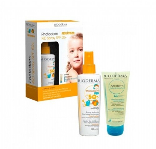 BIODERMA SPRAY KIDS + ACEITE DE DUCHA 100 ML DE REGALO