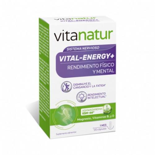 Vitanatur vital energy+ (120 caps)