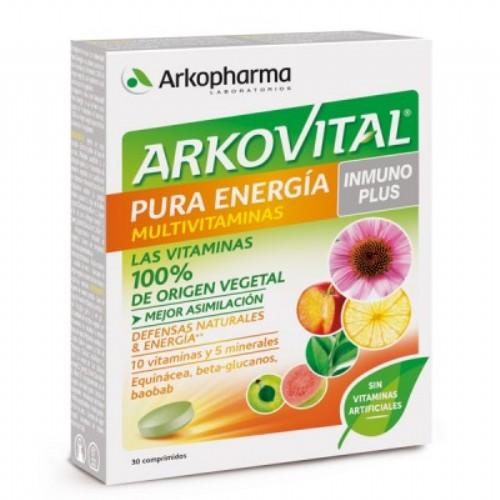 Arkovital pura energia inmunoplus 30 comp