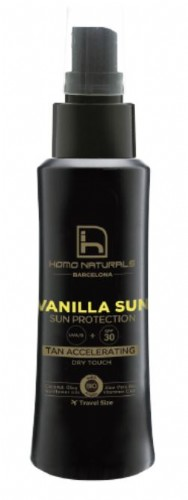 Homo naturals - vanilla sun 100ml 30spf