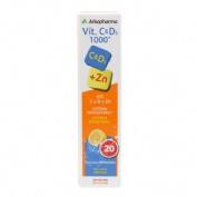 Arkopharma vitamina c y d3 1000 (20 comprimidos efervescentes)