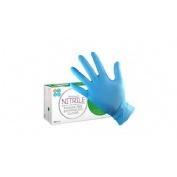 Guantes de examen nitrilo sin polvo - safe check (t- l 100 guantes)