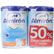 Almiron advance + pronutra 3 (2 envases 800 g pack ahorro 50%)