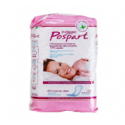 Compresas higienicas femeninas posparto - febus algodon primeros dias (10 u)