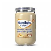 Nutriben manzana naranja platano y galleta (potito 235 g)