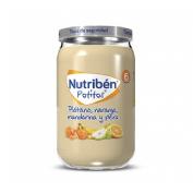 Nutriben platano naranja mandarina y pera (potito 235 g)