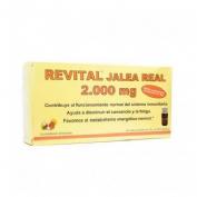 Revital jalea real 2000 mg ampollas bebibles (20 viales)