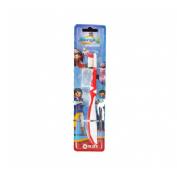 Cepillo dental infantil - kin (playmobil super 4)
