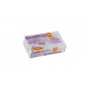 Guantes de nitrilo sin polvo (t- gde 100 u)