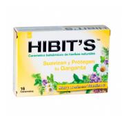 Caramelos hibit,s (miel limon 16 u)