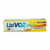 Lizivoz pastillas para chupar (18 pastillas fresa)