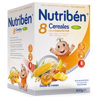 NUTRIBEN  8 CER MIEL 4 FRUTAS 600G