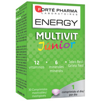 ENERGY MULTIVIT JUNIOR COMP MASTICABLES 30 COMP