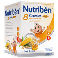 NUTRIBEN  8 CER MIEL FIBRA 600 G