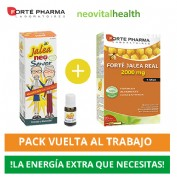 PACK Jalea Neo Senior 14 viales bifasicos 10ml + Forte Pharma Jalea Real 2000 mg 15 mg 20 ampollas