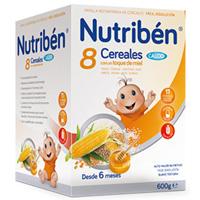 NUTRIBEN  8 CER MIEL C/CALCIO 600G
