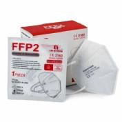 Mascarilla ffp2 homologada (blanca)