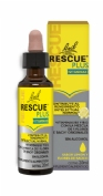 Bach rescue plus (gotas 1 envase 20 ml sabor limon y flores de sauco)