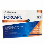 Forcapil fortificante keratina+ (2+1 mes de regalo)