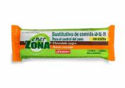 Enerzona 40-30-30 snack bar (naranja recubierta chocolate negro 1 barrita)