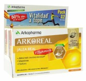 JALEA REAL VITAMINADA ARKOREAL 500MG ARKOPHARMA PACK 2X20 AMPOLLAS DE 15ML