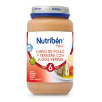NUTRIBEN 250 JUNIOR GUISO DE POLLO/TERN JUDIAS V