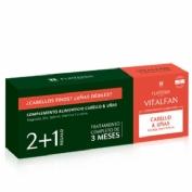 Vitalfan vitalidad cabello y uñas - rene furterer (3 x 30 caps)