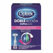 Optrex doble acción ojos secos 20 monodosis
