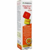 Vitamina c 1000mg + zinc  arkovital comp eferves (20 comp)
