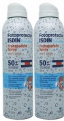 FOTOPROTECTOR ISDIN SPF-50+ PEDIATRICO SPRAY TRANSPARENTE WET SKIN 250 ML