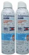 FOTOPROTECTOR ISDIN SPF-50+ PEDIATRICO SPRAY TRANSPARENTE WET SKIN 250 ML
