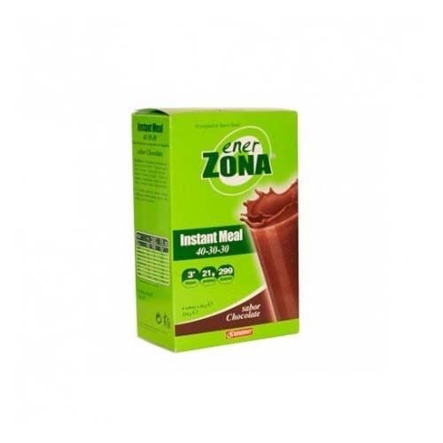 Enerzona 40-30-30 instant meal (chocolate 4 sobres)