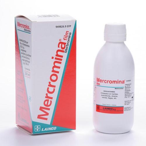 MERCROMINA FILM, 1 frasco de 250 ml