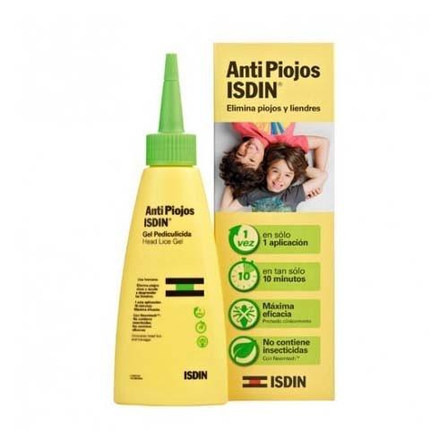 Antipiojos isdin gel uso humano - pediculicida (100 ml)