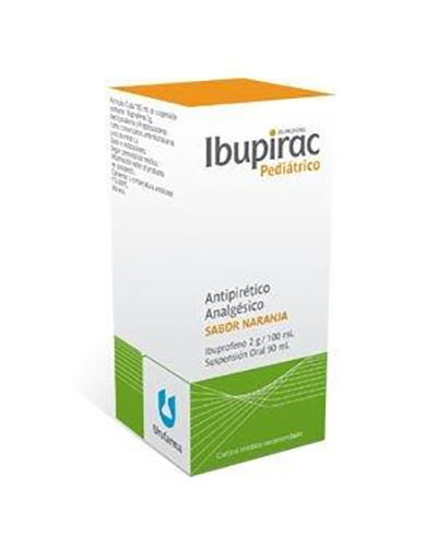 IBUPIRAC 20 mg/ ml SUSPENSION ORAL , 1 frasco de 200 ml